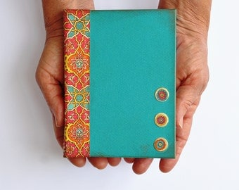 Journal blank pages Pocket Journal Hand bound Books