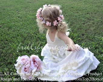 Ivory Lace Girl Dress