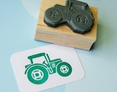 Tractor stamp - Little TractorRubber stamp Stocking Stuffer Filler