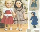 AMERICAN GIRL DOLL Sewing Pattern by Simplicity No. 1245 Uncut