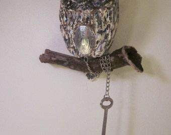 owl spiritual handmade sculpture