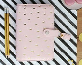 SALE! Blush & Gold Dots Webster's Pages Color Crush Personal Planner Kit • Free Washi Tape with this order