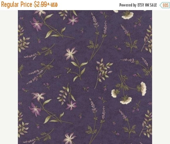 On Sale The Potting Shed Fabric Violet By Kimberlysfabricstash