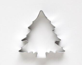 Pine Tree Cookie Cutter, Christmas Tree Cookie Cutter, Metal Cookie Cutter, Woodland Party Cookie Cutter