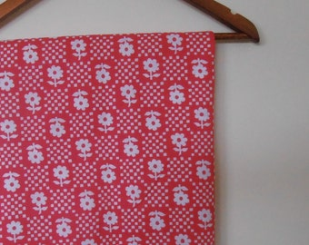 candy crush...vintage cotton fabric