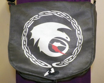Black Dragon Satchel Made to Order