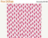 SuperBowl Sale Color Me Happy from V and Co and Moda fabrics, Floral Sprouts Pink, 1/2 yard total