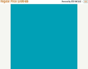 SuperBowl Sale Kona Designer solid cotton, by Robert Kaufman, Solid in Lagoon half yard