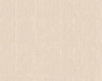 Natural Muslin, 45 inch 200 Count,per 1/2yd., Kaufman, # KONAMUS-45N. -