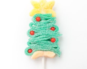 25 Christmas Tree Candy Kabobs