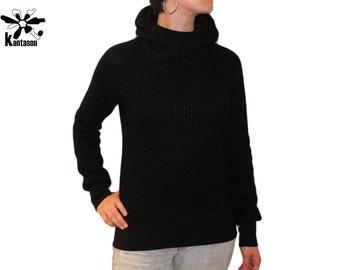 Hoody knitted Malin 4