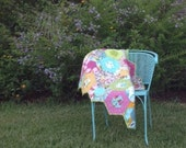 Baby Quilts for Sale,   Modern Quilts,  Quilts for Girls,  Lap Quilts,  Home Decor,  READY TO SHIP