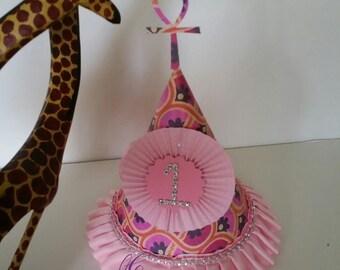 African Ankara  party hat
