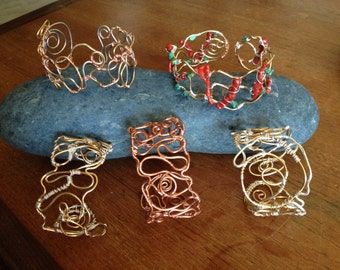Wild Wire Cuff Bracelet