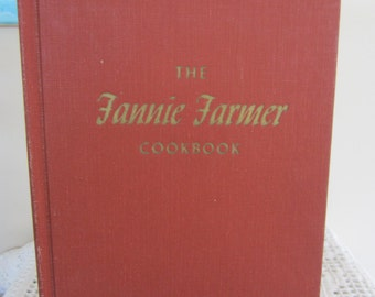 Vintage The Fannie Farmer Cookbook 11th Edition 1965