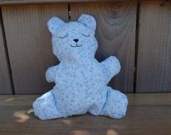Blue star Teddy Bear