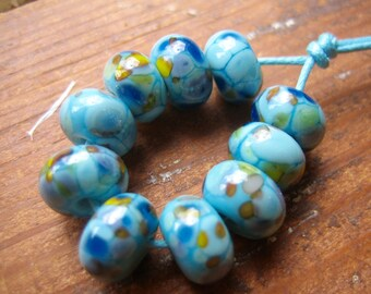 Neptunes Fritties Lampwork Glass Beads, SRA, UK Seller, UK Lampwork