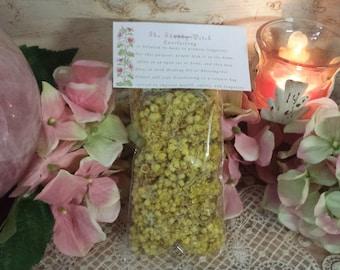 Everlasting Flowers Organic, Helichrysum Flowers whole 1/2.oz