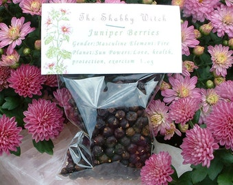 Juniper Berries, Juniper Berry 1.oz