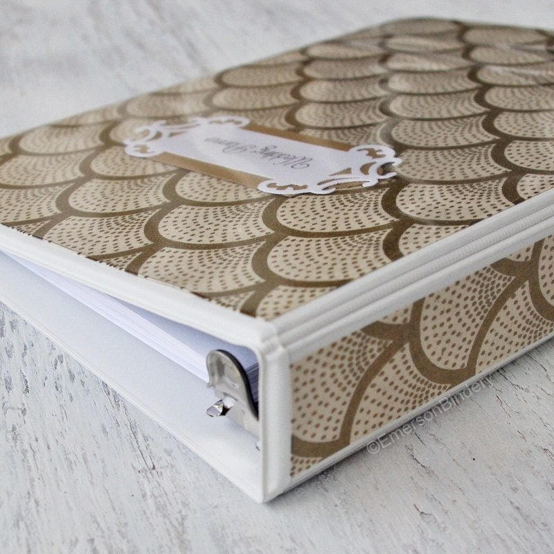 Wedding Planner Book Wedding Binder Organizer By