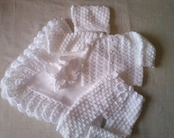 Newborn first outfit, newborn outfit, Newborn Coming home outfit, white kit, come home newborn clothes, christening outfits, baby layette