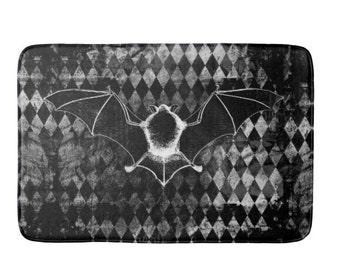 Vampire Bat Bath Mat Rug