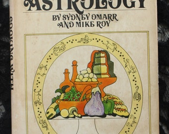 Cooking With Astrology by Sidney Omarr Vintage Cookbook 1969