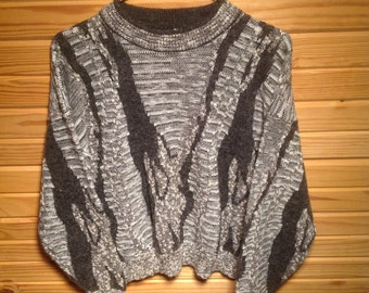 80s Vintage Oversized Sweater  // RAD // Ladies // Large