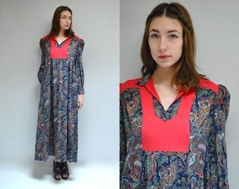 Cotton Maxi Dress  //  Maternity Dress  //  THE MANDALA