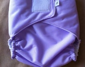 Ready to Ship - Diaper Cover - Velcro - Lavender