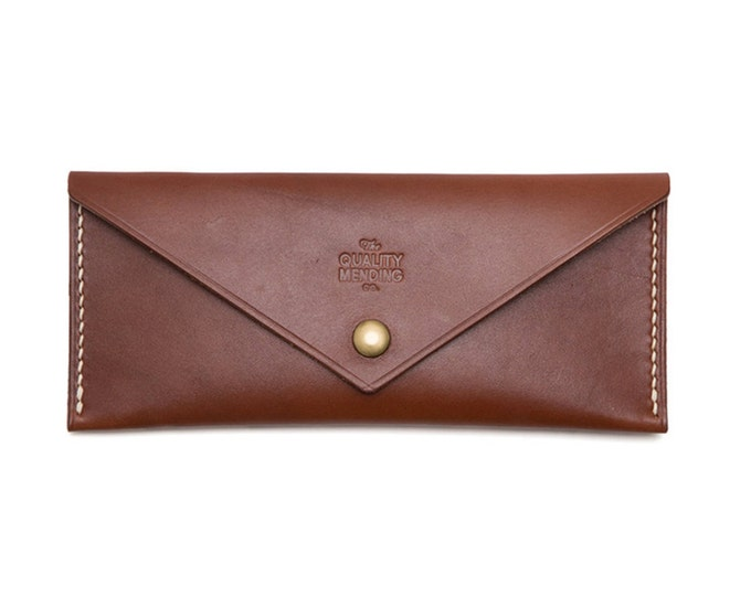 QMC Handmade Leather Travel Wallet