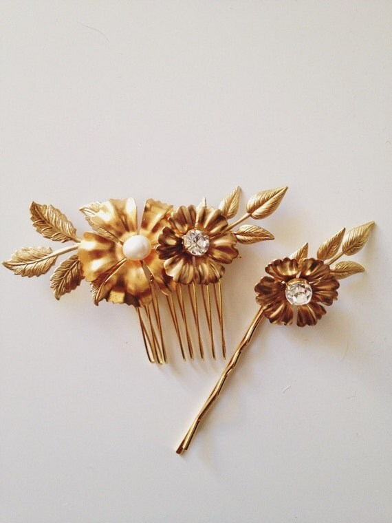 Giselle comb and pin set, style 507