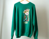 MARDI GRAS New Orleans sweatshirt made in USA