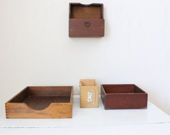 Collection of Wooden Boxes