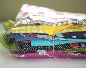 Designer Fabric Scrap Bundle, One Pound