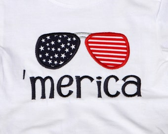 Children's patriotic shirt