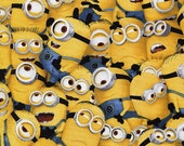 1 in a Minion - Quilting Treasures - Fat Quarter