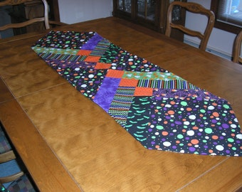 Quilted Table Runner, Halloween