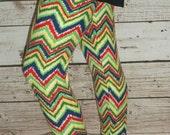 50% off - Now 7.50 - Ladies Leggings - Free Shipping to USA - aztec leggings, chevron leggings, zig zag leggings, womens leggings