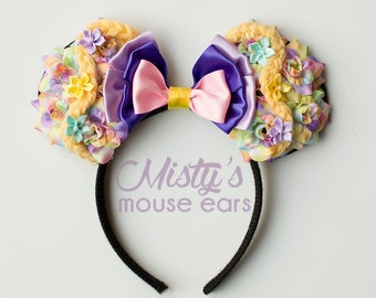 Inspired Rapunzel Tangled Rose Mouse Ears
