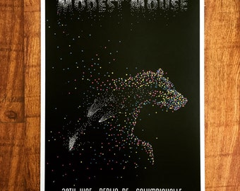 Modest Mouse Berlin Poster