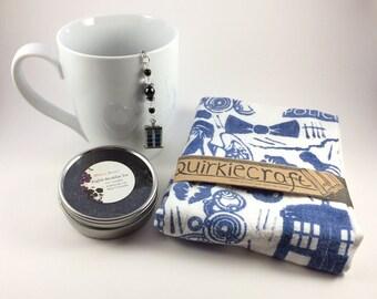 Doctor Who Tea Infuser and Tea Towel Gift Set
