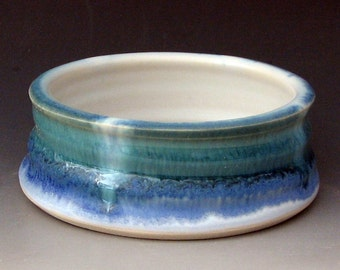 SMALL DOG BOWL # 8 - Cat Bowl - Ceramic Dog Bowl - Ceramic Cat Bowl - Small Dog Dish - Cat Dish - Small Pet Bowl - Small Water Bowl