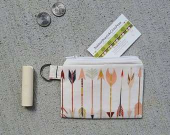 Zippered Wallet {Arrows}