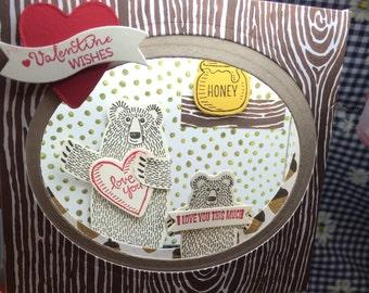 Valentine Bears card