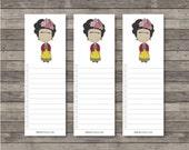 Frida Bookmark Notes . Digital Collection . Mayi Carles