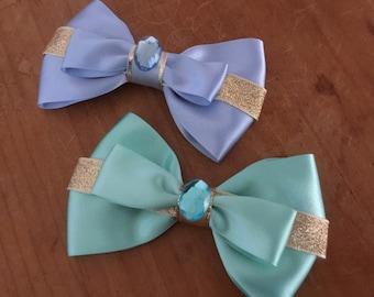 Disney Inspired Jasmine (Aladdin) Hair Bow