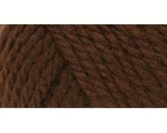 317182 E728-9344 Red Heart Soft Yarn - Chocolate