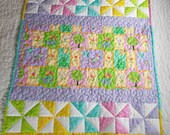 Lullabye Baby Quilt, Crib Quilt/Baby Blanket