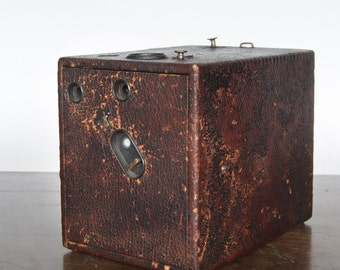 Very Old Falling Plate Box Camera